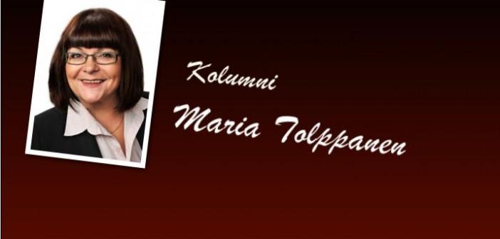 <center>Maria Tolppanen – Loma ei vie lamaa </center>