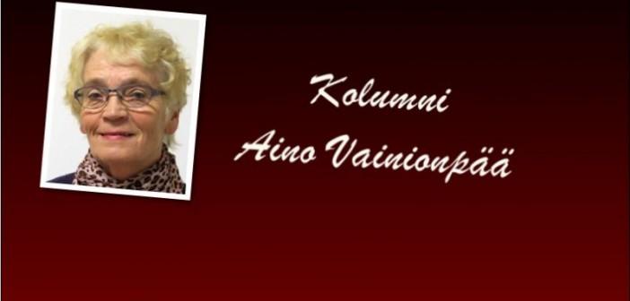 Aino Vaininopää – Ikäihmisetkin tarvitsevat kirjastojen palveluja