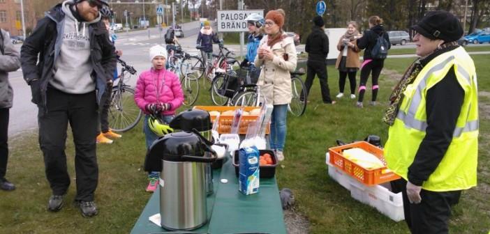 <center>Perinteinen Pyöräilyviikko 2015 Vaasassa</center>