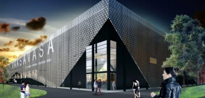 <center>KH Jalkapallostadion rakennetaan</center>