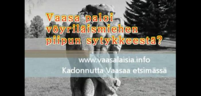 <center>Kadonnutta Vaasaa etsimässä jakso 20</center>
