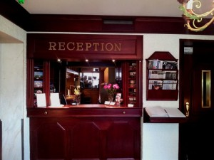 Hotel Astor Vaasa reception