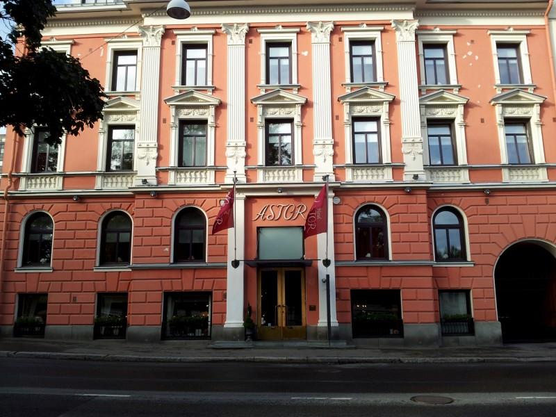 Hotel Astor Vaasa ulkokuva