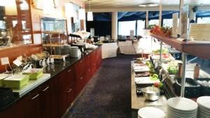 Hotel Rantasipi Tropiclandia aamiainen