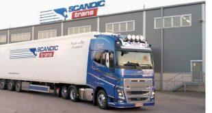 ohjalainen kuljetusyhtiö Scandic Trans Oy aloittaa rahtikuljetukset Vaasan ja Uumajan välillä lokakuussa. Kuva: Scandic Trans.