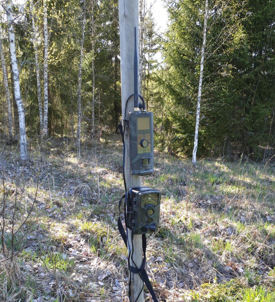 Metsästys on tuonut riistakamerat valvontaan