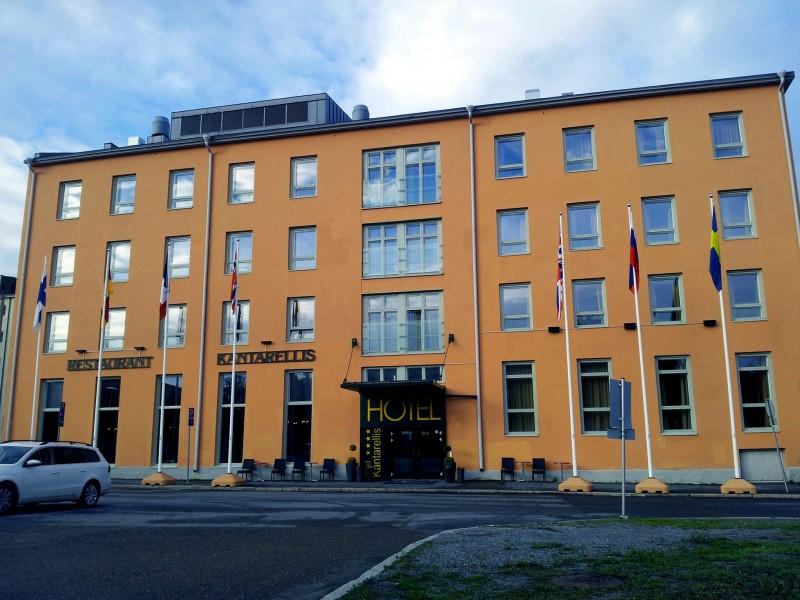 Hotel Kantarellis Vaasa ulkokuva