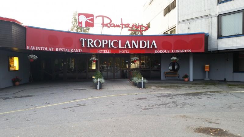 Hotel Rantasipi Tropiclandia Vaasa ulkokuva